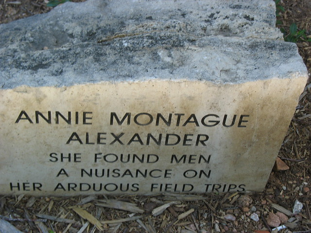 Header of Annie Montague Alexander