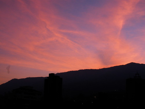 pink clouds sunrise colombia amanecer nubes medellin antioquia rosado justclouds