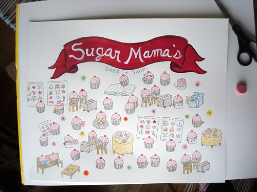 Custom order for Sugar Mama's Bake Shop