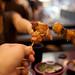 Yakitori toast by crazybobbles