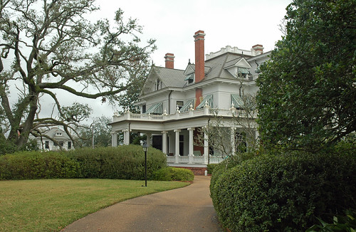 texas beaumont jeffersoncounty mcfaddinhousecomplex house nationalregisterofhistoricplaces 71000942 1906mcfaddin classical revival architecture mcfaddinwardhouse 1906 henryconradmauer