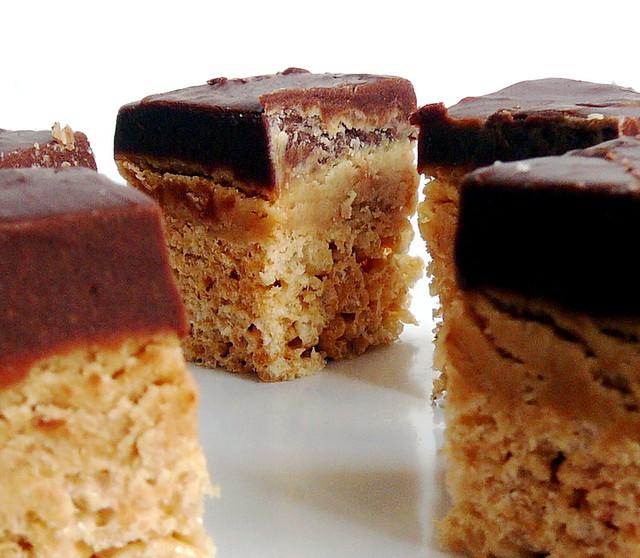 Peanut Butter Chocolate Fudge Rice Krispie Treats 4 | Flickr - Photo ...