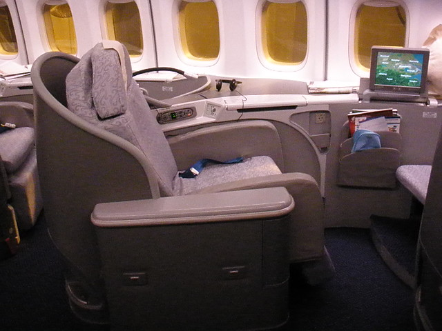 Air China B747 First Class Sleeper Seat Lovely