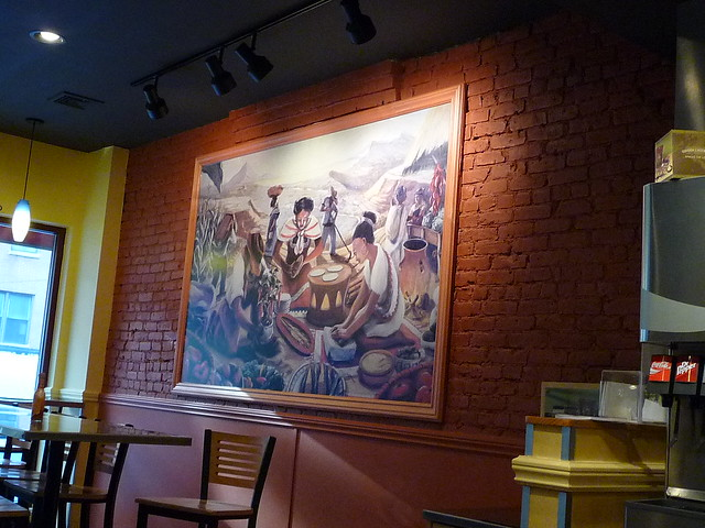 Quot Authentic Quot Mexican Decor At Qdoba Flickr Photo Sharing