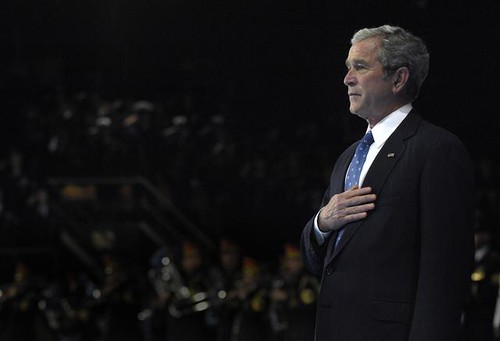 Armed Forces Full Honor Farewell to President George W. Bush