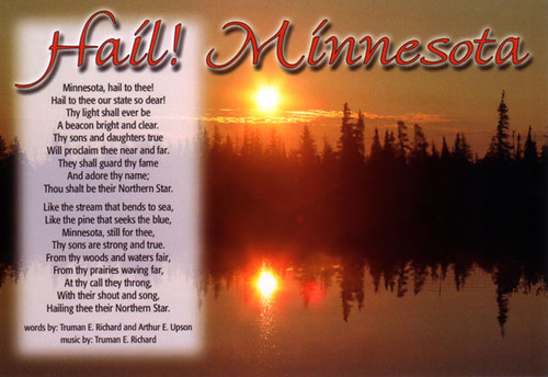 Hail Minnesota Hail Minnesota The State Song The