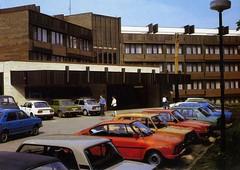 Hotel Myslivna, Brno. 1980s postcard
