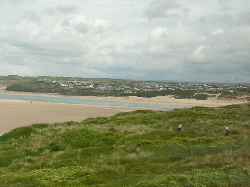 Hayle River and Hayle Towans
