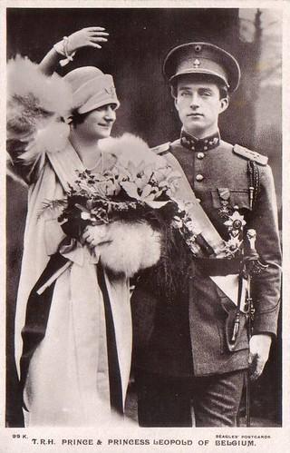 König Leopold III. und Königin Astrid von Belgien