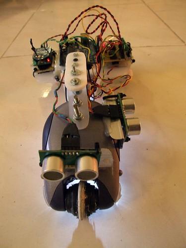 Arduino xbee robot rc rat nunchuck fun nerves cool geek