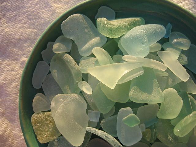 beach glass from Flickr via Wylio