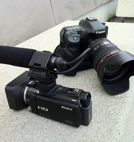 My tools of the trade #Canon #Sony