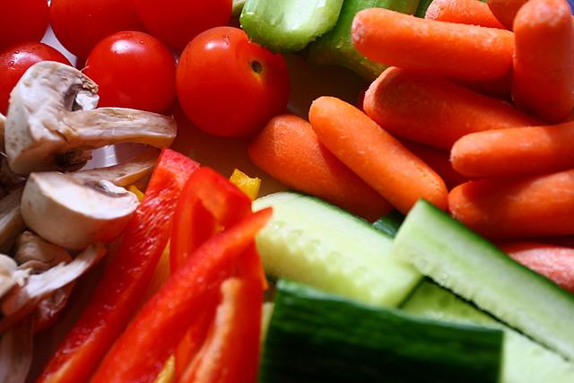 彩り豊かな野菜