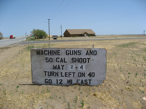 Machine Guns and .50 Cal Shoot