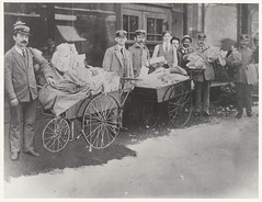 Letter Carriers with Handcarts by Smithsonian Institution