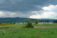 The mountains of Mont Dore and La Banne d'Ordanche