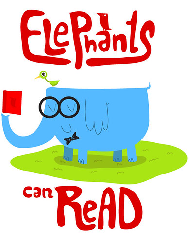 elephants can read