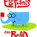elephants can read by medialunadegrasa
