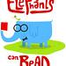 elephants can read by medialunadegrasa