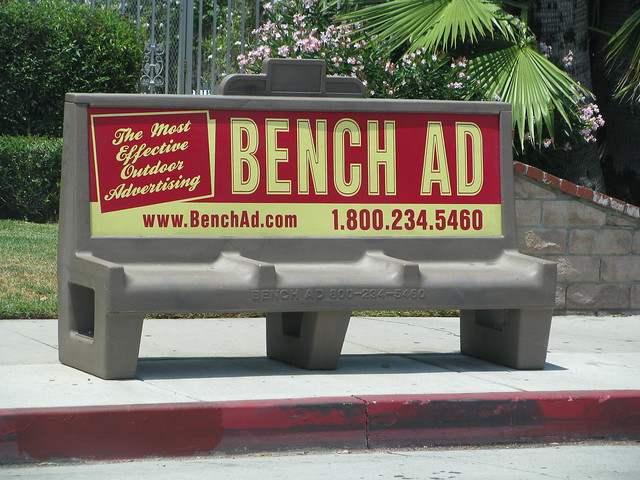 Why Your Bus Bench Advertising Doesn't Work