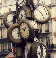 Paris Clocks