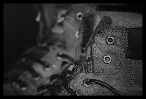 bw leather shoes eyelets workboots nikond60