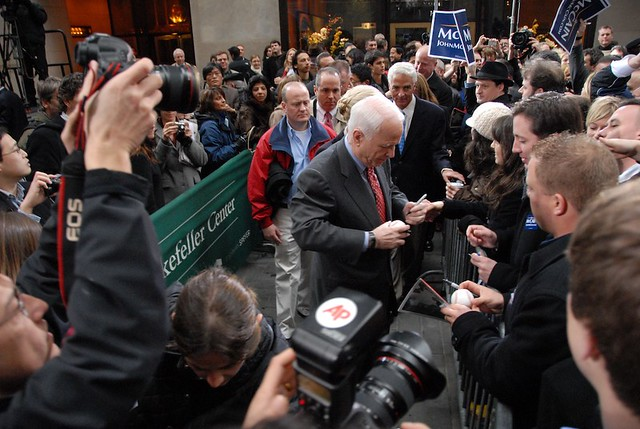 John McCain @Rockefeller Center/Super Tuesday