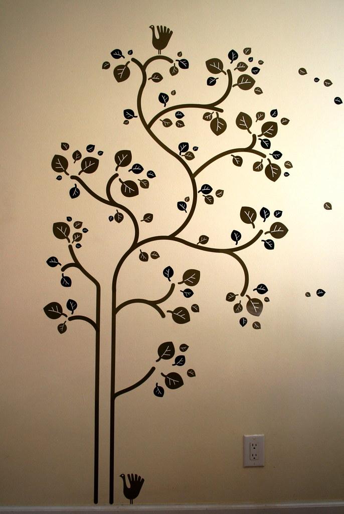 ikea slätthult folk tree - wall decals | behold! the ikea sl… | flickr