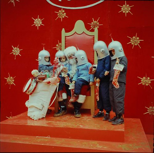 Santa Claus and the Astronauts