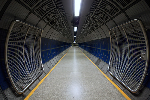 Passenger Tunnel - London Bridge Station