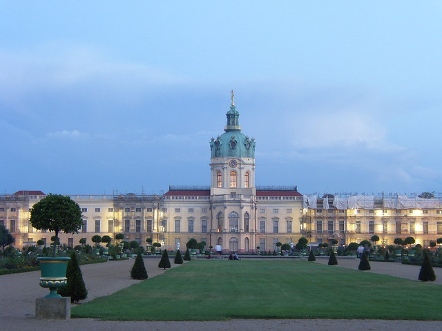 Picnic in the grounds of Charlottenburg Palace