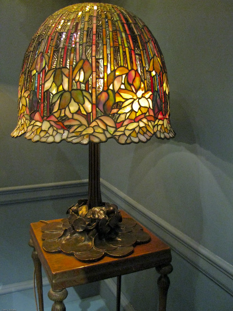 Lotus Shade Tiffany Lamp Louis Comfort Tiffany 1904 15