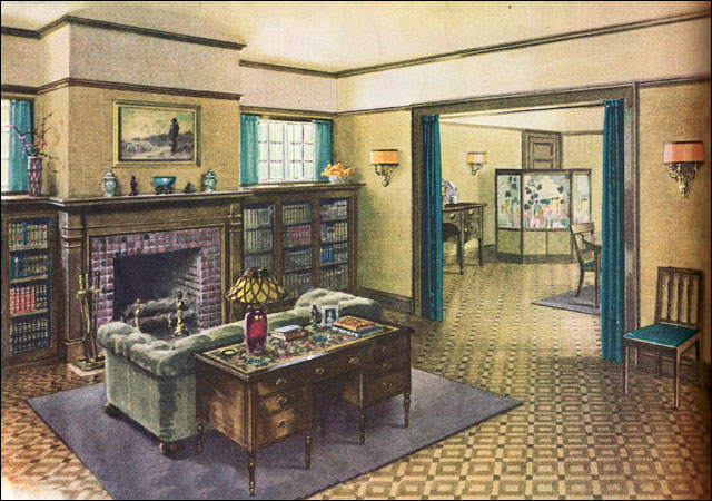 1920s living room