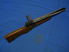 handgun(0.0), trigger(0.0), cue stick(0.0), dagger(0.0), weapon(1.0), shotgun(1.0), rifle(1.0), firearm(1.0), gun(1.0), gun barrel(1.0),
