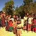 Kids Waving Goodbye - Kalaw, Burma