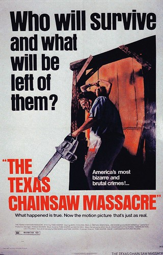 The Texas Chainsaw Massacre (1974) Film Poster