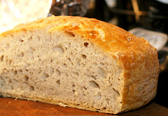 meal, breakfast, baking, beer bread, rye bread, baked goods, food, soda bread, sourdough,