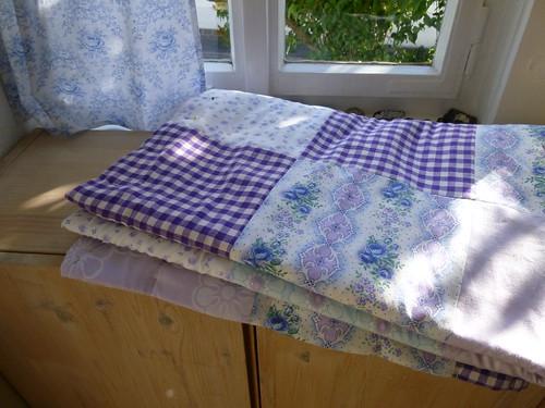 Come riutilizzare le lenzuola vecchie