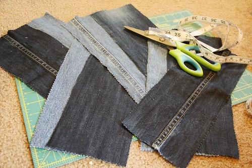 Denim Jeans Tote Bag Tutorial