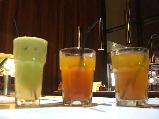 Apple Mint Lime Juice, Lemon Iced Tea, Shikoku Island Tea ...