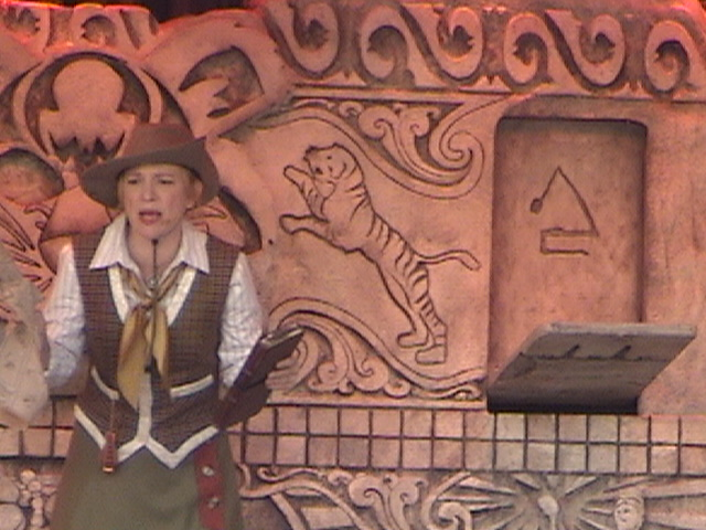 Indiana Jones™ and the Secret of the Stone Tiger Revealed!, Aladdin's Oasis, Adventureland, Disneyland®, Anaheim, California, 2008.05.26 15:21