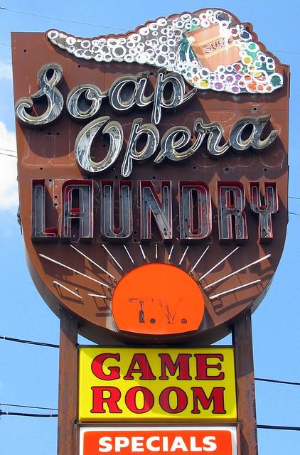 Soap Opera Laundry