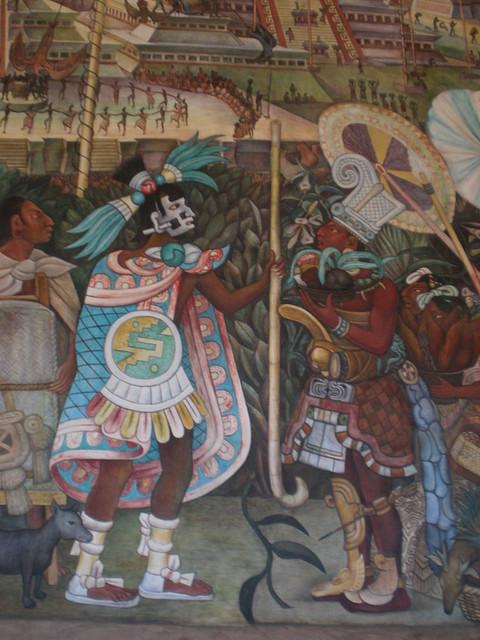 Palacio nacional and the diego rivera murals preparation for Diego rivera aztec mural