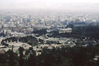 agora acropolis athens greece 1987 pugh family photos877