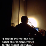 the internet, a social environment for the antisocial