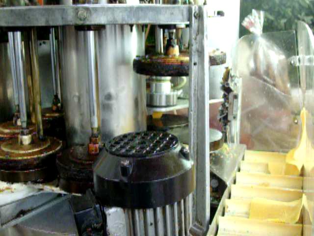 La macchina dei brigidini