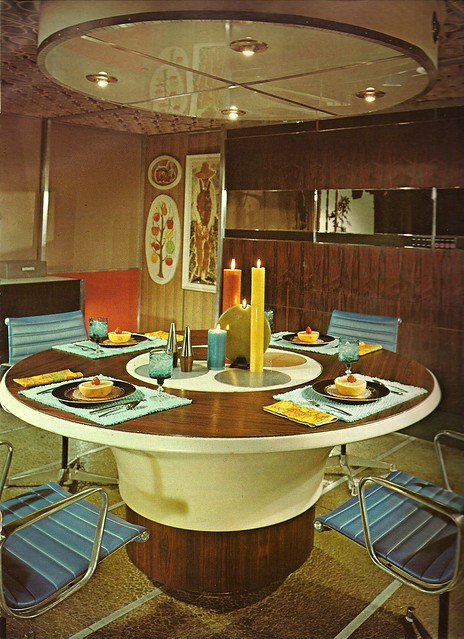 1970s Architectural Digest Kitchen
