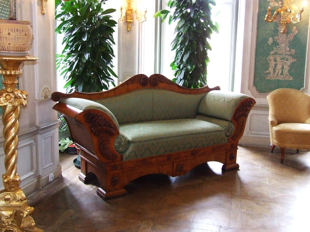 Cool June I think this art deco esque sofa has got to be the best piece of furniture I uve seen in Poland maybe ever and we took a quick turn