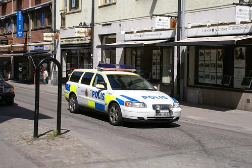 Kalmar/Sweden: Police Polizei Polizia Polis Policia Politie