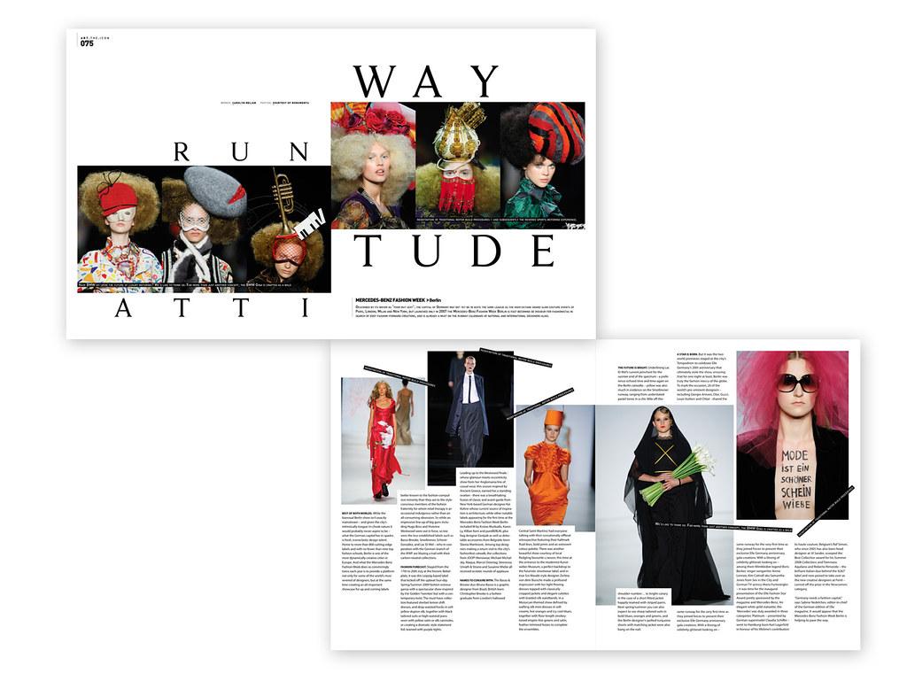 Berlin Fashion Week Modern Design Magazine A Photo On Flickriver